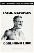"""Movie Posters:Drama, Cool Hand Luke (Warner Brothers, 1967). Fine/Very Fine. UncutPressbook (20 Pages, 11"""" X 17"""") & Herald (Folded: 4.25"""" X 11""""..."""
