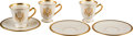 Political:Presidential Relics, Franklin D. Roosevelt: Three Sets of 1939 N.Y.W.F. Cups and Saucers.... (Total: 3 Items)