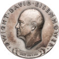 Political:Inaugural (1789-present), Dwight D. Eisenhower: 1953 Silver Inauguration Medal....