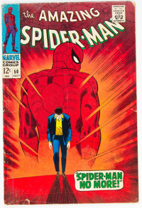 The Amazing Spider-Man #50 (Marvel, 1967) Condition: GD/VG