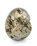 Lapidary Art:Eggs and Spheres, Pyrite Egg. Peru. 1.96 x 1.50 inches (4.97 x 3.80 cm). ...