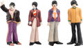 Music Memorabilia:Memorabilia, Beatles Yellow Submarine Set of Goebel Ceramic Figurines (1968)....