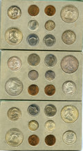 Uncertified 1952 Double Mint Set. The double mint set includes 30 coins, two of each denomination struck at the Philadel...