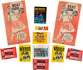 Music Memorabilia:Memorabilia, Beatles Large Lot of International Bubble Gum Cards and Related Material Circa 1964....