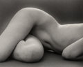 Photographs:Gelatin Silver, Ruth Bernhard (American, 1905-2006). Hips Horizontal, 1975. Gelatin silver, printed later. 10-1/2 x 13 inches (26.7 x 33...