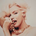 Photographs:Chromogenic, Bert Stern (American, 1929-2013). Marilyn Monroe with Beads-TheLast Sitting, 1962. Dye coupler, printed later. 18-3/4 x...