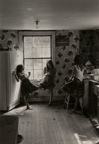William Gedney (American, 1932-1989) Three Girls in Kitchen, Kentucky, 1964 Gelatin silver, printed