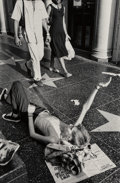 Photographs:Gelatin Silver, Jim Goldberg (American, b. 1953). The Sugar Daddy's Motel Room and Untitled (Hollywood Walk of Fame) (two works), 19... (Total: 2 Items)