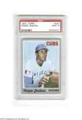 Baseball Cards:Singles (1970-Now), 1970 Topps Fergie Jenkins #240 PSA Mint 9....