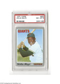 Baseball Cards:Singles (1970-Now), 1970 Topps Willie Mays #600 PSA NM-MT 8....