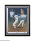 Autographs:Others, Don Drysdale Signed Lithograph....