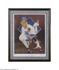 Autographs:Others, Sandy Koufax Signed Lithograph....