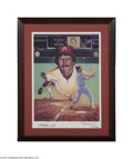 Autographs:Others, Mike Schmidt Signed Lithograph....