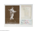 Autographs:Index Cards, New York Yankees Autograph Lot of 22....