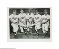 Baseball Collectibles:Photos, 1940's-50's Jackie Robinson Wire Photograph Lot of 8....