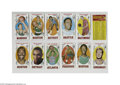 Basketball Cards:Lots, 1969-70 Topps Basketball Lot of 26 with Alcindor....