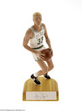 Basketball Collectibles:Others, Salvino, Inc. Larry Bird Crouch Shot Home Statue....