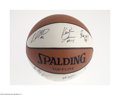 Basketball Collectibles:Balls, 2003-04 Georgia Tech Team Signed Basketball....