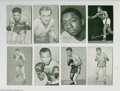 Boxing Cards, Miscellaneous Lot of 63 Boxing Cards....