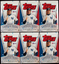 Baseball Cards:Unopened Packs/Display Boxes, 2005 Topps Baseball Series 1 Case With 12 Unopened Boxes. ...