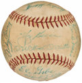 Autographs:Baseballs, 1959 New York Yankees Team Signed Baseball (23 Signatures)...