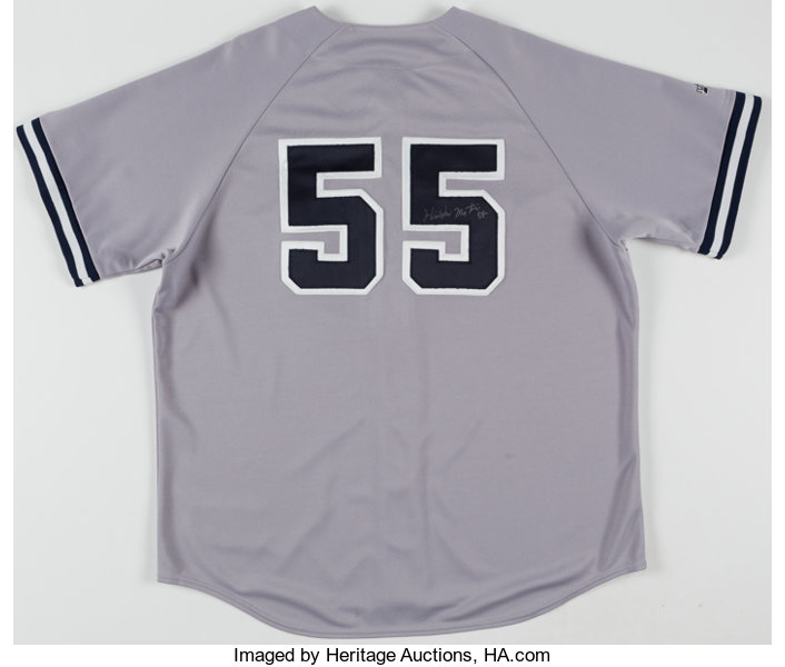 Hideki Matsui Signed New York Yankees Jersey. Offered here is a ... 81d533d512e