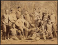 Football Collectibles:Photos, c. 1890s Yale Bulldogs Football Team Photograph....