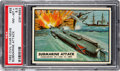 Non-Sport Cards:Singles (Post-1950), 1962 Topps Civil War News - Submarine Attack #59 PSA NM-MT+ 8.5 - Pop One, Only Two Higher. ...