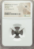 Ancients:Oriental, Ancients: PERSIS KINGDOM. Uncertain King. Ca. 1st century AD. AR obol. NGC XF....