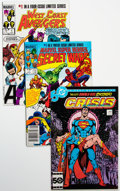 Modern Age (1980-Present):Miscellaneous, Mini Series Long Box Group (Various Publishers, 1980s-90s) Condition: Average VF/NM....