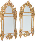 Furniture , A Pair of Régence-Style Carved Giltwood Mirrors, 20th century. 75 x 41 x 4 inches (190.5 x 104.1 x 10.2 cm) (each). PROPER... (Total: 2 Items)