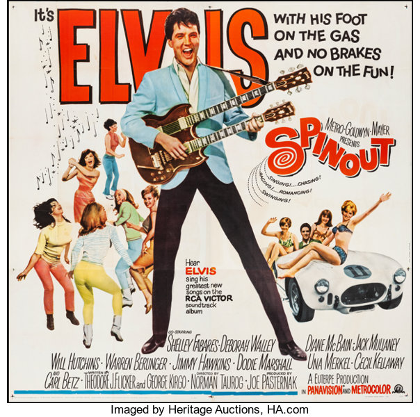 Image result for elvis spinout movie poster