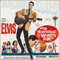 "Movie Posters:Elvis Presley, It Happened at the World's Fair (MGM, 1963). Folded, Very Fine-.Six Sheet (80"" X 79""). Elvis Presley.. ..."