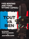 """Movie Posters:Foreign, Tout va Bien (Gaumont, 1972). Folded, Very Fine. French Grande (46.5"""" X 62.5""""). Foreign.. ..."""