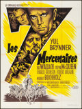 """Movie Posters:Western, The Magnificent Seven (United Artists, 1961). Folded, Very Fine-.French Grande (47.25"""" X 62.5""""). Western.. ..."""