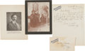 "Autographs:Celebrities, William F. ""Buffalo Bill"" Cody: 1908 ALS with Photograph. ..."