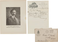 "William F. ""Buffalo Bill"" Cody: 1902 Autograph Letter Signed [ALS]"