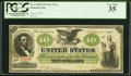 Large Size:Demand Notes, Fr. 6 $10 1861 Demand Note PCGS Very Fine 35.. ...