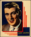 """Movie Posters:Miscellaneous, Gary Cooper (c. 1930s). Fine+. Trimmed Linen Finish Jumbo LobbyCard (approx. 14"""" X 17""""). Miscellaneous.. ..."""