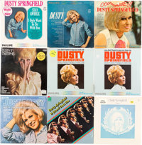 Dusty Springfield Sealed LP Group of 9 (Various labels, 1964-73)