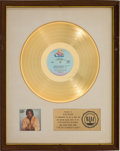 Music Memorabilia:Awards, Barry White I've Got So Much To Give RIAA Gold Sales Award White Matte (20th Century, 1973). ...