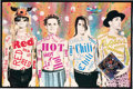 Music Memorabilia:Posters, Red Hot Chili Peppers Promotional Poster For The Album Freaky Style (EMI, 1985)....