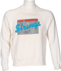 Music Memorabilia:Memorabilia, Elton John Owned Los Angeles Strings Sweater....