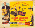 Movie/TV Memorabilia:Posters, Don't Knock The Rock (Columbia, 1956). ...