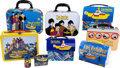 Music Memorabilia:Memorabilia, Beatles Set of Yellow Submarine Lunchpails (1999). ... (Total: 9 Items)