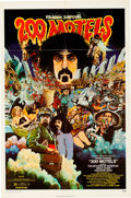 """Movie/TV Memorabilia:Posters, 200 Motels (United Artists, 1971). One Sheet (27"""" X 41"""").Comedy/Fantasy/Musical...."""