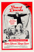 """Movie/TV Memorabilia:Posters, Son of Dracula (Cinemation Industries, 1974). One Sheet (27"""" X 41""""). Comedy...."""