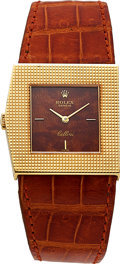 Timepieces:Wristwatch, Rolex, Rare Cellini King Midas, 18K Yellow Gold, Manual Wi...