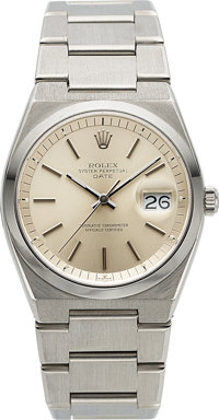 Rolex, Rare Ref. 1530 Oyster Perpetual Date, Automatic, Stainless Steel, Circa 1976