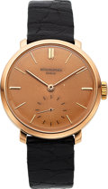 Timepieces:Wristwatch, Patek Philippe, Vintage Calatrava, 18K Rose Gold, Manual Wind, Ref.584, Circa 1948. ...